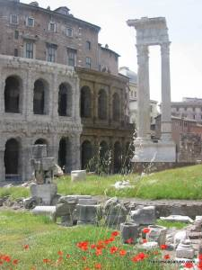 Teatro Marcello and the Temple of Apollo (near the Ghetto)