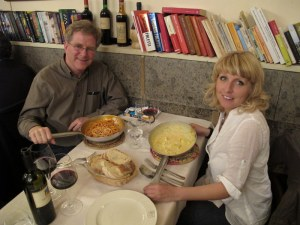 Rick Steves and Francesca Caruso