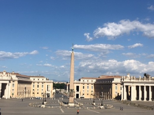 Empty piazza