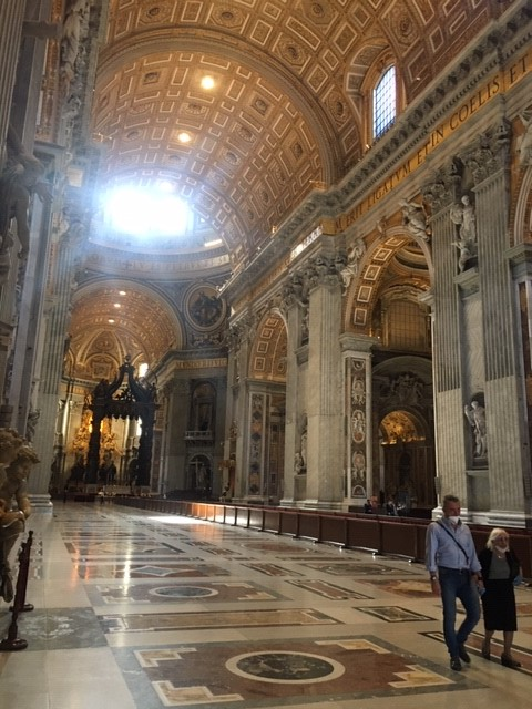 Empty St Peters