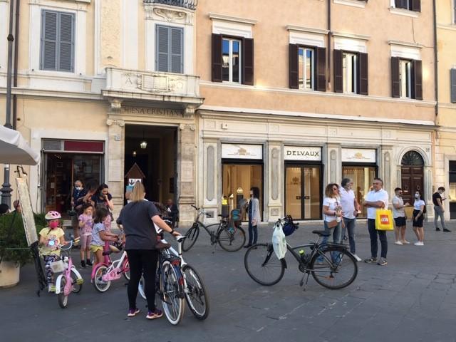Piazza bikes